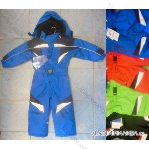 Kombinéza zimní nepromokavá šusťáková kojenecká a dětská dívčí a chlapecká (80-116) PENG MING LC1201