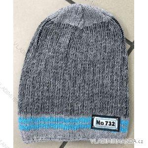 Čepice zimní dětská chlapecká  POLSKO PV617732