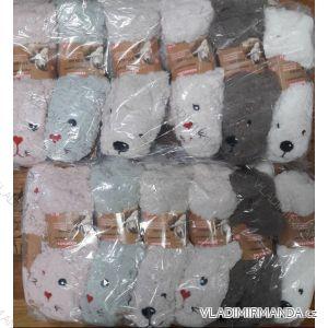 Ponožky zateplené ovčí hebkou bavlnou dětské dorost chlapecké a dívčí (26-32) LOOKEN SM-HL-3702X