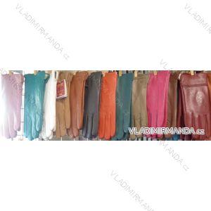 Rukavice  prstové teplé dámské  koženkové VIKERS POL217201