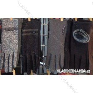 Rukavice  prstové teplé dámské  látkové VIKERS pol217201