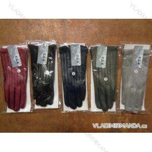 Rukavice  prstové teplé dámské  (m-l) PV617TN1539