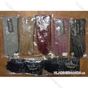 Rukavice  prstové teplé dotykové na mobil dámské  (s-l) PV617ST-045