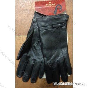 Rukavice  prstové teplé dámské  koženkové VIKERS POL217F001