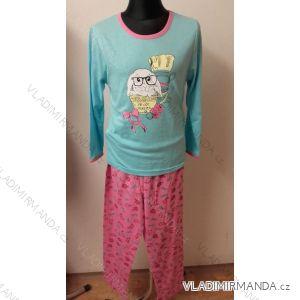 Pyžamo dlouhý rukáv nohavice dorost dívčí bavlněné (134-164) COANDIN S1371C