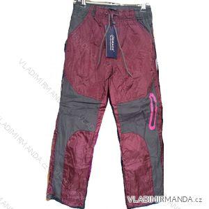 Kalhoty šusťákové zateplené flaušem dětské chlapecké (98-128) GRACE 41969