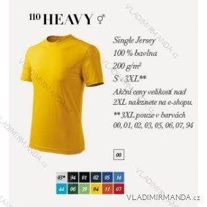 Tričko heavy krátký rukáv unisex (s-3xl) REKLAMNí TEXTIL 110H