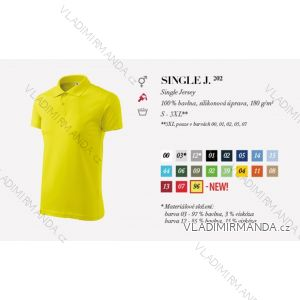 Tričko single jersey krátký rukáv unisex (s-3xl) REKLAMNí TEXTIL 202SJ