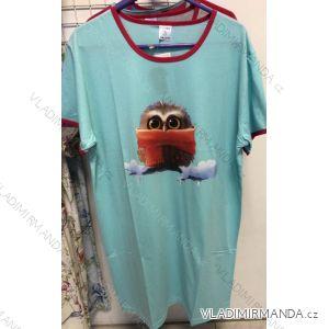 Košile noční krátký rukáv dámská bavlněná (m-3xl) COANDIN 9102464