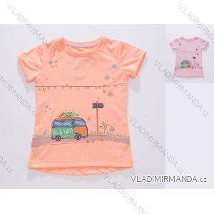 Tričko krátký rukáv dětské dívčí (92-122) WOLF S2811