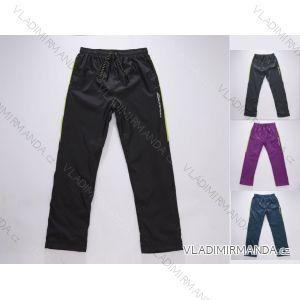Kalhoty šusťákové slabé dorostenecké chlapecké bavlněná podšívka (140-158) WOLF T2852