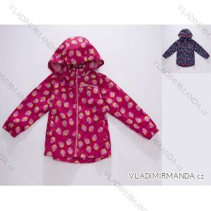 Bunda šusťáková jarní  dětská dívčí (92-134) WOLF B2863