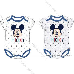 Body krátký rukáv mickey mouse kojenecké chlapecké bavlněné (62-86) EPLUSM DIS BMB 51 01 861