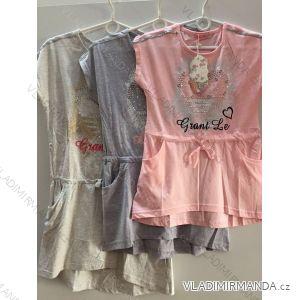 Šaty letní dětské dorost dívčí (8-16 let) ITALSKá MLADá  MóDA RX-18002