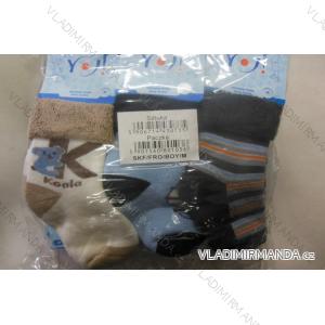 Ponožky teplé kojenecké  chlapecké (sss-l) YO YOXXX