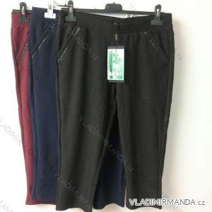 Kalhoty 3/4 elastické bambusové dámské (l-5xl) VAAV VA-851