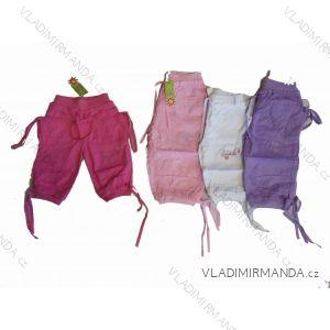 Kalhoty 3/4 dětské dívčí (4-12let) ALB KA-13-ALB