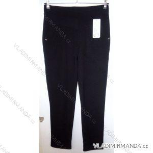 Kalhoty elastické dlouhé dámské nadrozměrné (2xl-5xl) SMILING JEANS WU-152