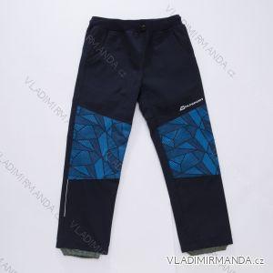 Kalhoty softshell slabé dětské kojenecké chlapecké (86-110) WOLF B2883