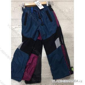 Kalhoty manžestr bavlněné outdoor dětské dorost chlapecké a dívčí (116-146) GRACE GRA1970579