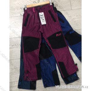 Kalhoty manžestr bavlněné outdoor kojenecké dětské dívčí a chlapecké  (86-116) GRACE 60409