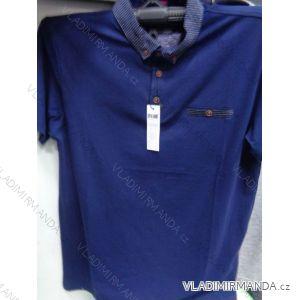 Tričko s límečkem a kapsičkou krátký rukáv pánské (m-2xl) DYNAMIC OBS18014