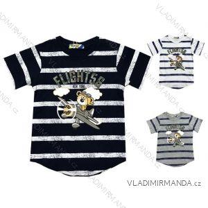 Tričko krátký rukáv kojenecké chlapecké (12-36 měsíců) KUGO TM0101
