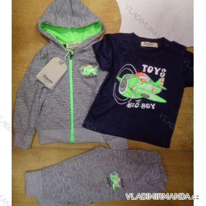 Souprava tepláková+tričko kojenecké dětské  chlapecká (80-110) SINCERE GIRLS LL-2221