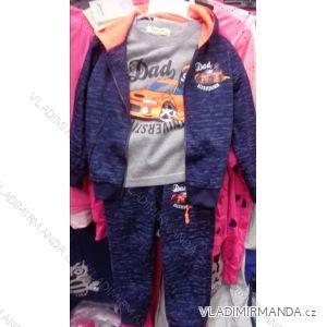 Souprava tepláková+tričko kojenecké dětské  chlapecká (98-128) SINCERE GIRLS LL-2224