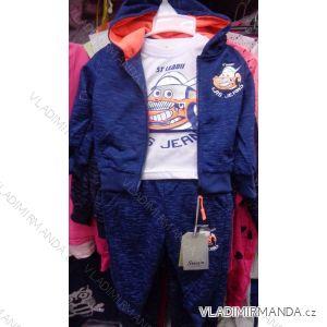 Souprava tepláková+tričko kojenecké dětské  chlapecká (80-110) SINCERE GIRLS LL-2222