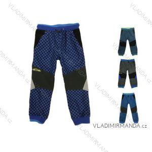 Kalhoty outdoor manžestrové bavlněné jarní kojenecké dětské chlapecké (80-110) KUGO M5003
