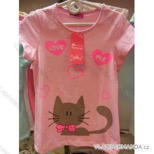 Tričko krátký rukáv dětské  dívčí (98-128) DREAM GIRLGL182369