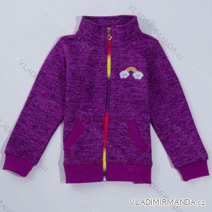 Mikina outdoor jarní dětská  dívčí (92-122) WOLF B2821
