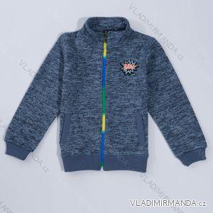 Mikina outdoor jarní dětská  chlapecká (92-122) WOLF B2823