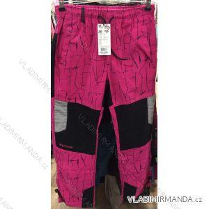Kalhoty manžestr bavlněné outdoor dětské dorost chlapecké a dívčí (116-146) GRACE GRA1970678
