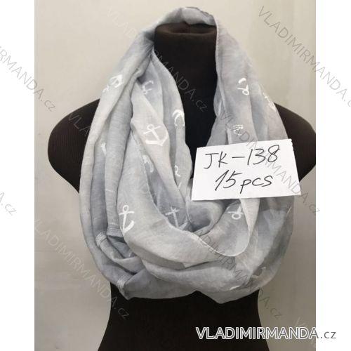 Šátek šál jarní kruhový dámský (one size) DELFIN JK-138 ... 5ed5ccde77