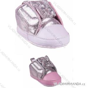 Capáčky botičky kojenecké dívčí (0-6, 6-12m) YO! OB-022