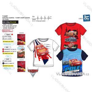 Tričko krátký rukáv cars dětské chlapecké bavlněné (3-8 let) SUN CITY ER1396