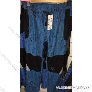 Kalhoty manšestr bavlněné outdoor dětské dorost chlapecké  (134-164) GRACE 70679
