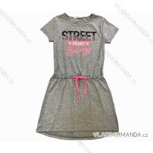 Šaty krátký rukáv dorost dívčí (8-16 let) KUGO K647