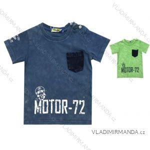 Tričko krátký rukáv kojenecké chlapecké (12-36 měsíců) KUGO TM0100