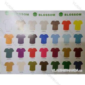 Tričko krátký rukáv dívčí,chlapecké, dorost, pánské, dámské bavlněné 110g (104-4xl) BLOSSOM BL15