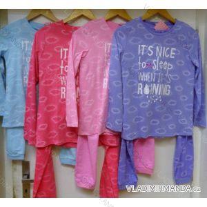 Pyžamo dlouhý rukáv nohavice dorost dívčí (134-170) VOGUE IN 98486