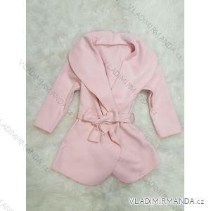 Kabátek flaušový dětský dorost dívčí (4-12 let) ITALSKá MLADá MóDA IMM28B35001