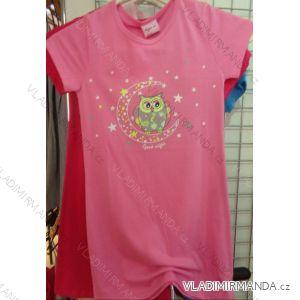 Noční košile krátký rukáv dětská dívčí (98-134) VOGUE IN 95281