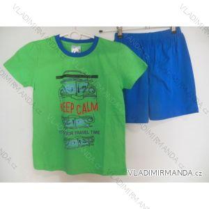 Pyžamo krátké dětské a dorost chlapecké (110-146) FOCUSE 55-137C