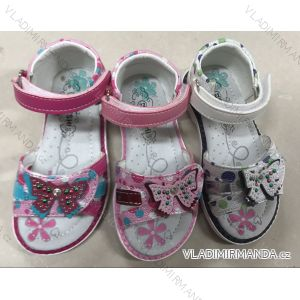 Sandále dětské dívčí (21-26) LINS RIS181363