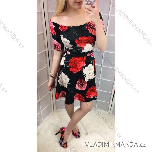 8246bd5f9874 Šaty bez rukávov kvetované dámske (uni sl) TALIANSKÁ MÓDA IM2185605 ...