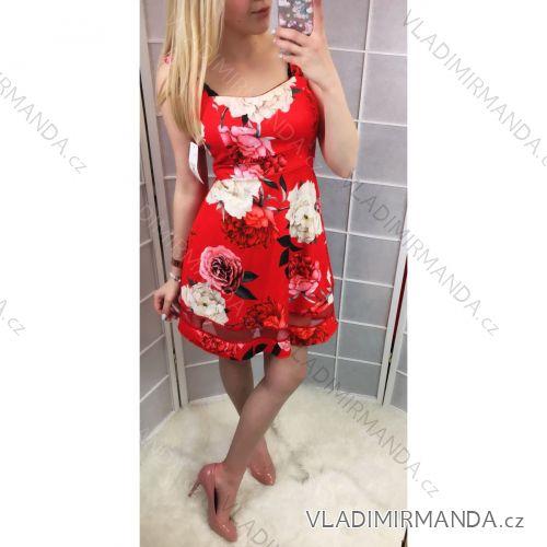 afdc976ccde0 Šaty na ramienka kvetované dámske (uni sl) TALIANSKÁ MÓDA IM2185634 ...