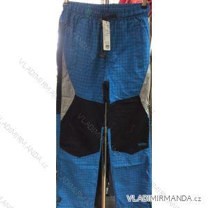 Kalhoty plátěné tenké letní outdoor dětské a dorost dívčí a  chlapecké (134-164) GRACE70605